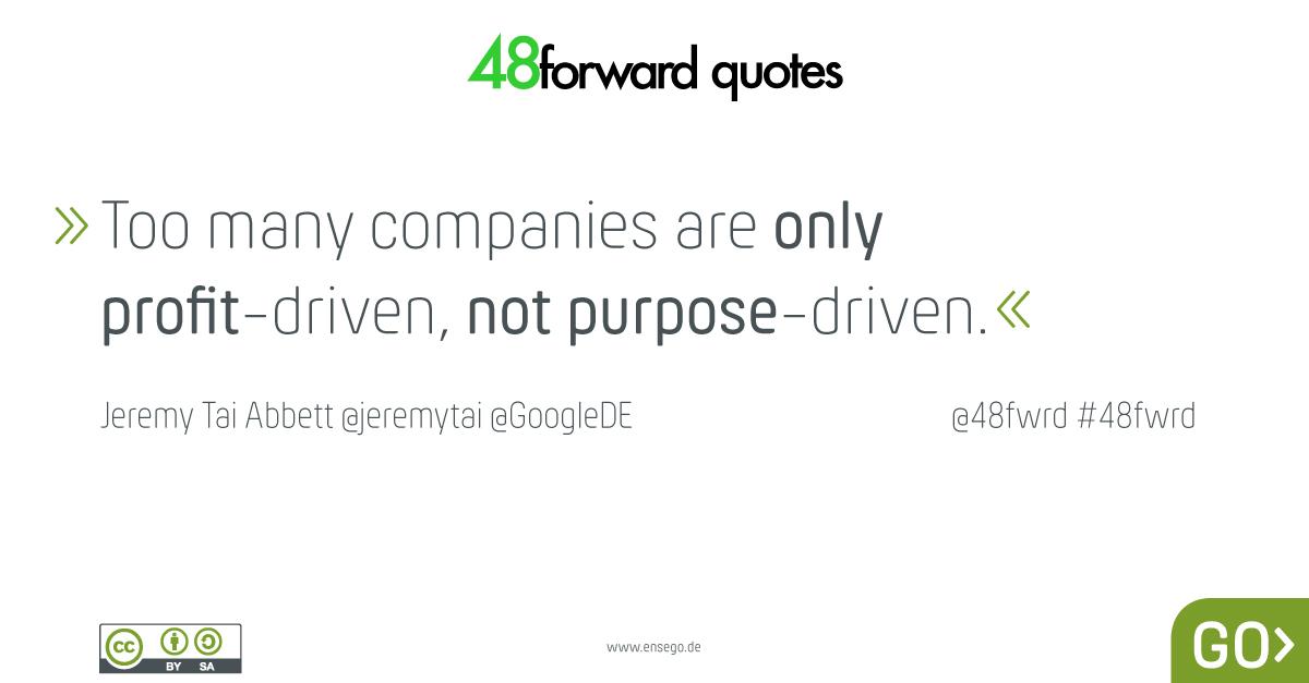 Jeremy Tai Abbett profit purpose