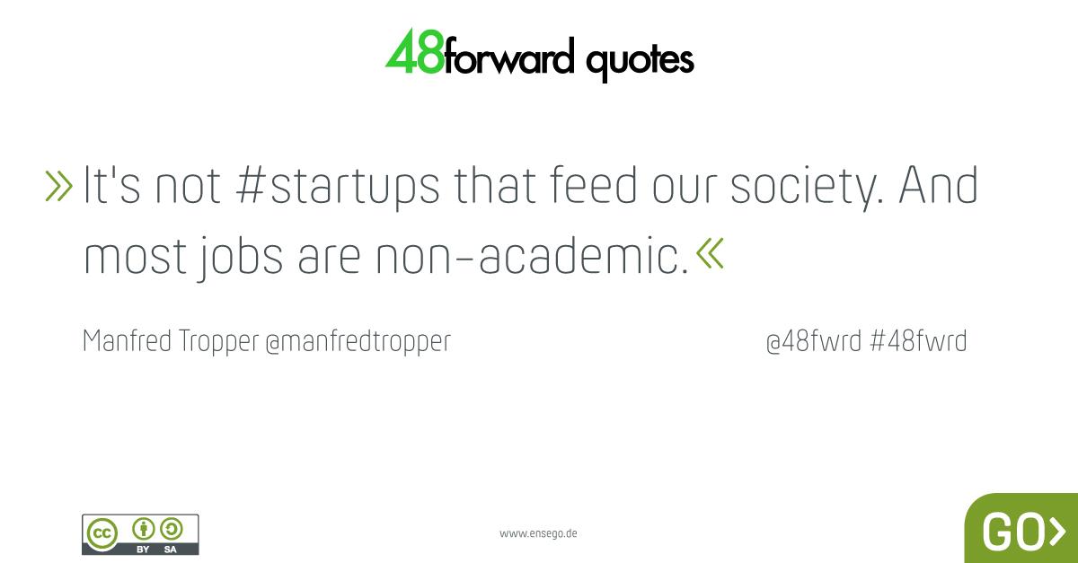 Manfred Tropper startups