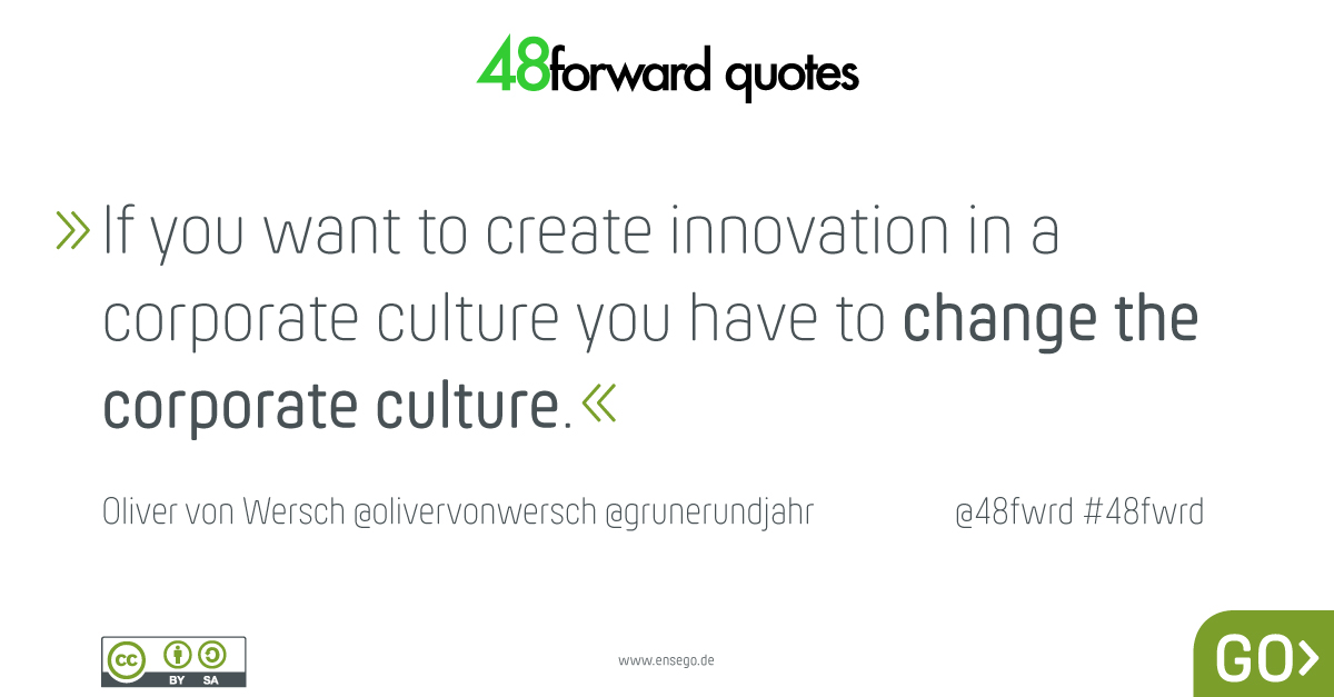 Oliver von Wersch corporate culture