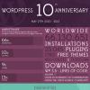WordPress Geburtstag Infografik